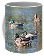 A Cluster Duck Coffee Mug