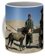 A Coalition Forces Military Working Dog Coffee Mug