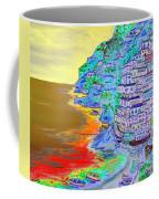 A Coastal View Of Positano Coffee Mug