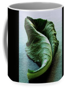 A Collard Leaf Coffee Mug