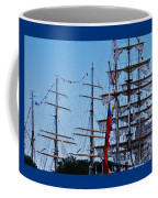 A Collection Of Masts In Baltimore Coffee Mug