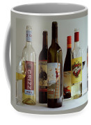 A Collection Of Wine Bottles Coffee Mug