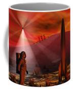 A Colony Being Established On An Alien Coffee Mug