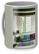 A Colourful Living Room Coffee Mug