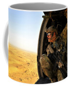 A Combat Rescue Officer Conducts Coffee Mug