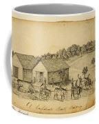 A Confederate Bull Battery Previous To The Battle Of Bull Run Coffee Mug