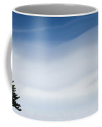 A Coniferous Tree Standing Alone In A Coffee Mug