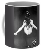 A Contortionist On A Pedestal Coffee Mug
