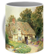 A Cottage By A Duck Pond Coffee Mug