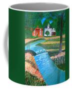 A Country Stream Coffee Mug