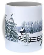 A Country Winter Coffee Mug