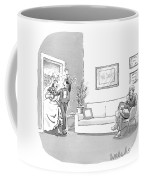 A Couple Who Have Just Been Married Coffee Mug