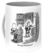 A Crabby-looking Coffee Mug