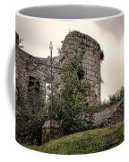 A Cross In The Ruins Coffee Mug