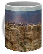 A Crowd And A Canyon Coffee Mug