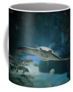 A Crownose Ray Rhinoptera Bonasus Coffee Mug