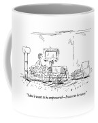 A Daughter Informs Her Mother Who Is Is Reading Coffee Mug