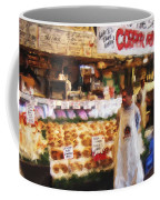 A Day At The Fish Market Coffee Mug