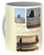 A Day On Cannon Beach Coffee Mug