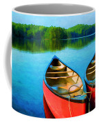 A Day On The Lake Coffee Mug