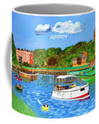 A Day On The River In Exeter Coffee Mug