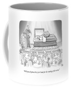 A Dead Chef Is In A Casket And A Bunch Of People Coffee Mug