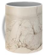 A Dead Stag Coffee Mug by Sir Edwin Landseer