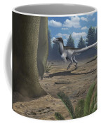A Deinonychosaur Leaves Tracks Coffee Mug