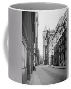 A Deserted Wall Street Coffee Mug