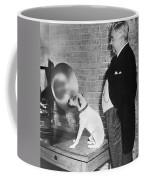 A Dog Listens To Gramaphone Coffee Mug