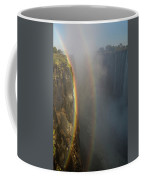 A Double Rainbow At Victoria Falls Coffee Mug
