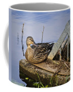 A Duck With Style Coffee Mug