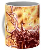 A Eaglet In Down Coffee Mug