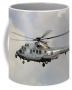 A Eurocopter As532 Cougar Of The Royal Coffee Mug