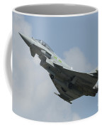 A Eurofighter Typhoon Of The Royal Air Coffee Mug