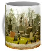 A Fall Gathering Of Crows Coffee Mug