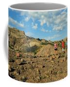 A Family Enjoys The Views Coffee Mug