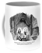 A Family Holds Hands In A Circle With A Psychic Coffee Mug