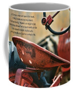 A Farmer And His Tractor Poem Coffee Mug