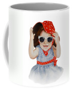 A Fashion Girl  Coffee Mug
