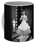 A Fashionable Mannequin And Her Unclothed Version In The Backgro Coffee Mug by Underwood Archives