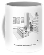 A Father In A Nice Office Looking Out The Window Coffee Mug