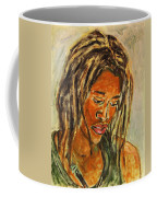 A Female Sax Player Coffee Mug