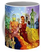 A Feminine Day In A Masculine Dreamer's Night Coffee Mug