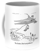 A Fish In The Water Addresses A Fish Who Coffee Mug