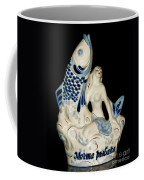 A Fisherman's Dream Russian Vodka Ceramic Bottle  Coffee Mug