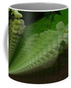 A Flower Repeating Itself Coffee Mug