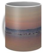 A Foggy Fishing Day Coffee Mug
