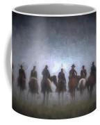 A Foggy Gettysburg Morning - Oil Coffee Mug