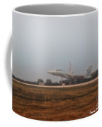 A Foggy Landing Coffee Mug